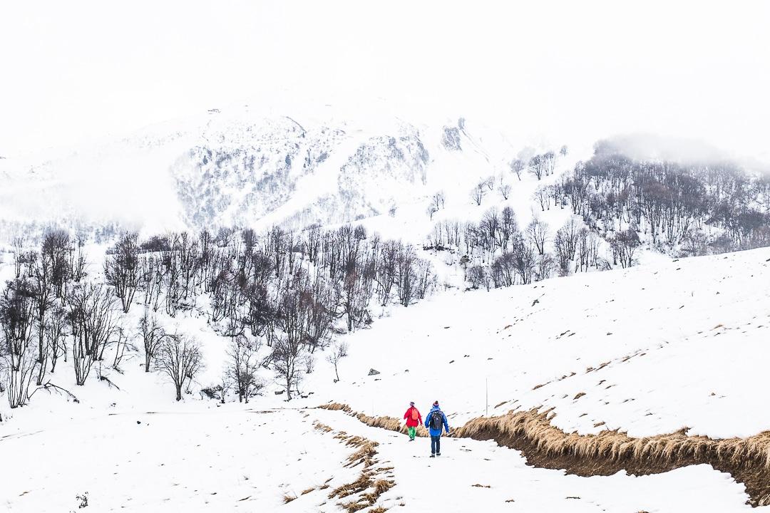 chemin de randonnée de la Toussuire au Corbier