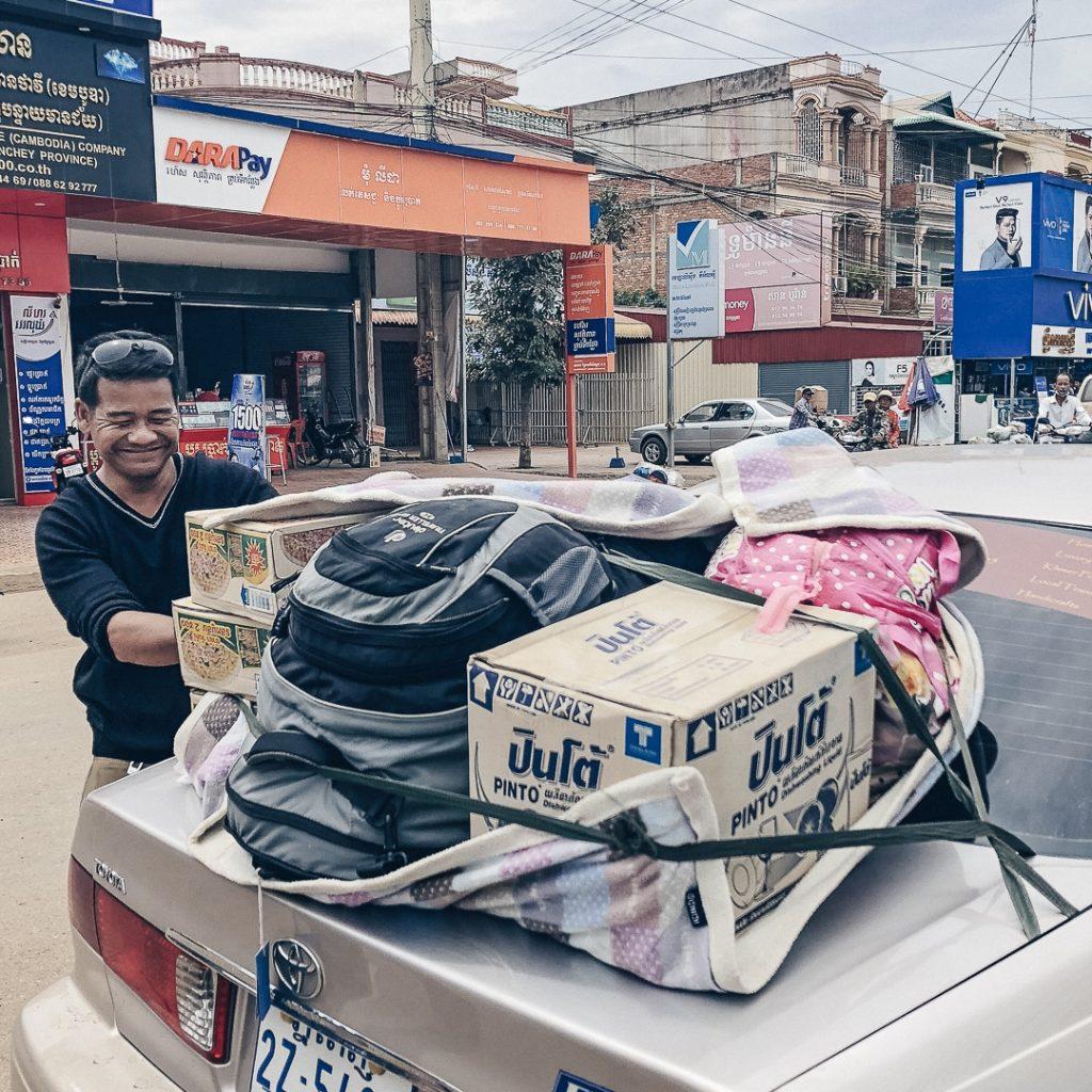 Taxi pour Banteay Chhmar