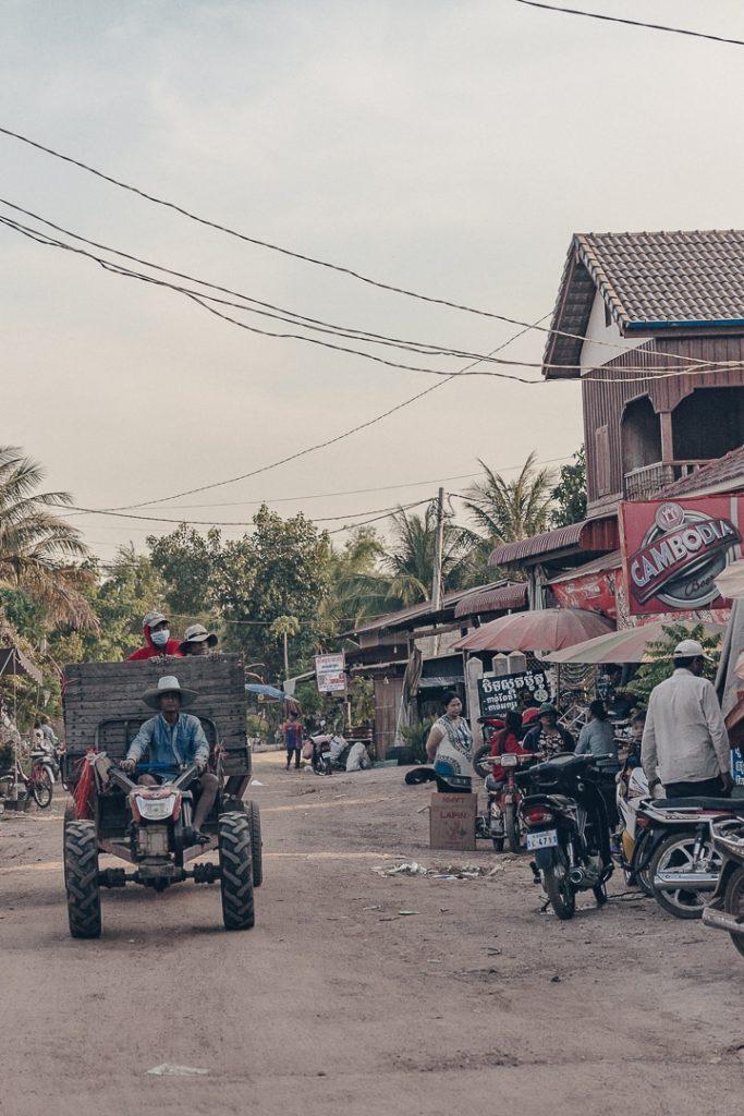 Vie simple à Banteay Chhmar - Cambodge