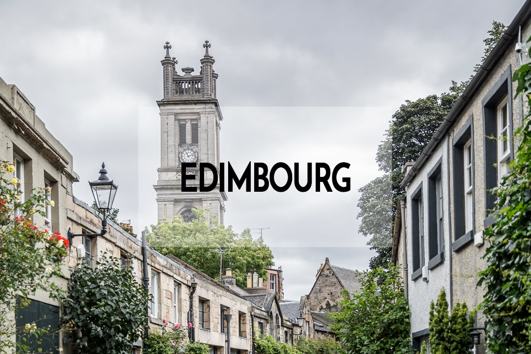 City trip Edimbourg