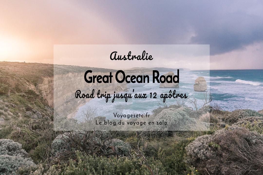 Road trip sur la Great Ocean Road en Australie #australie #greatoceanroad