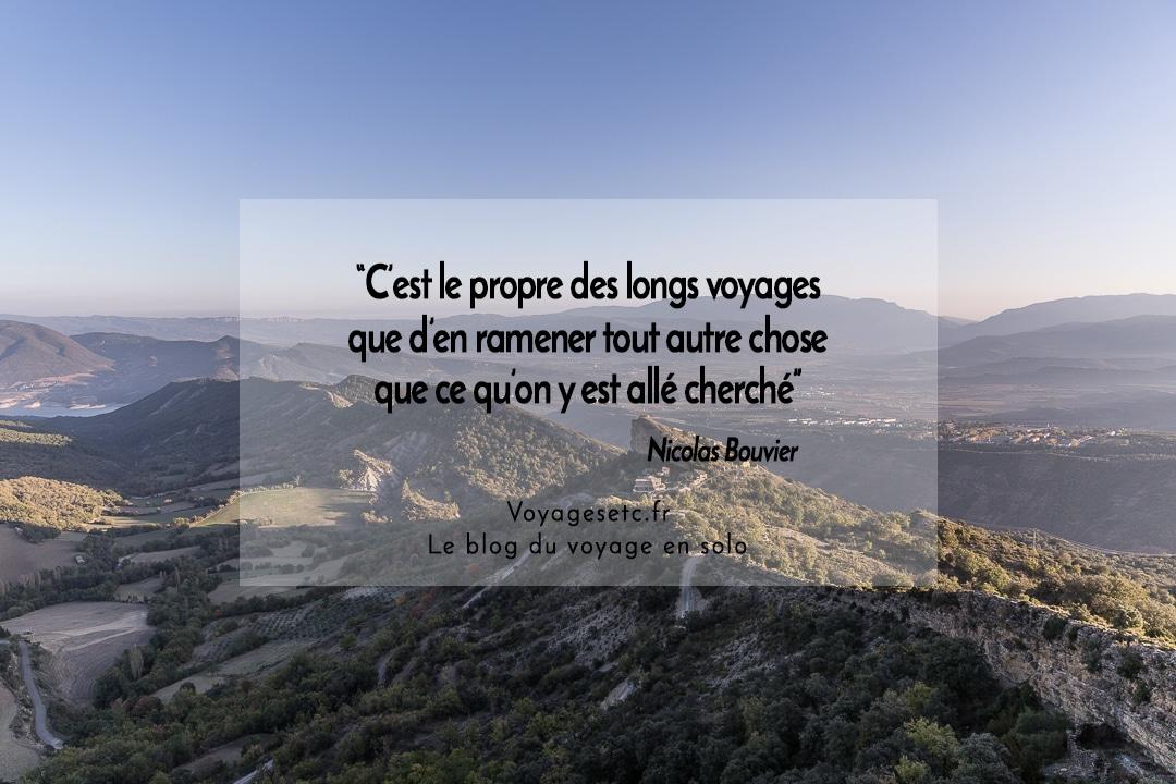 Citation voyage Nicolas bouvier
