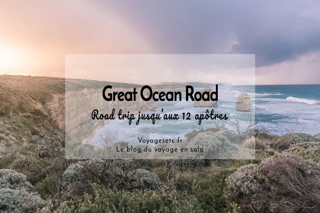 Road trip sur la Great Ocean Road #australie #voyage