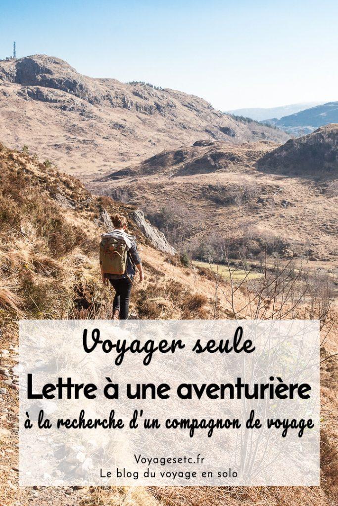 Voyageuse solo recherche compagnon de voyage. Est-ce une bonne idée ? #voyagerseule