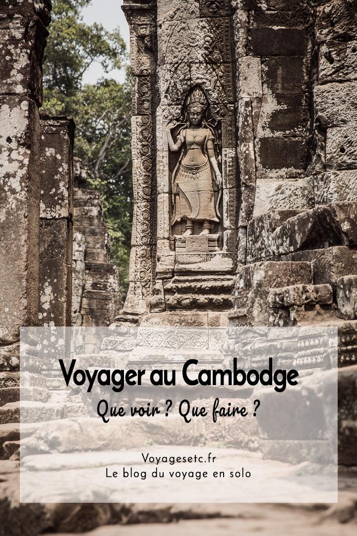 Que voir et que faire lors d\'un voyage au Cambodge ? Retrouvez ici tous mes récits et mes conseils pratiques pour se préparer à voyager en terres khmères. De Siem Reap à Phnom Penh en passant pas Banteay Chhmar et Kampot, de belles aventures vous attendent ici #cambodge #voyage