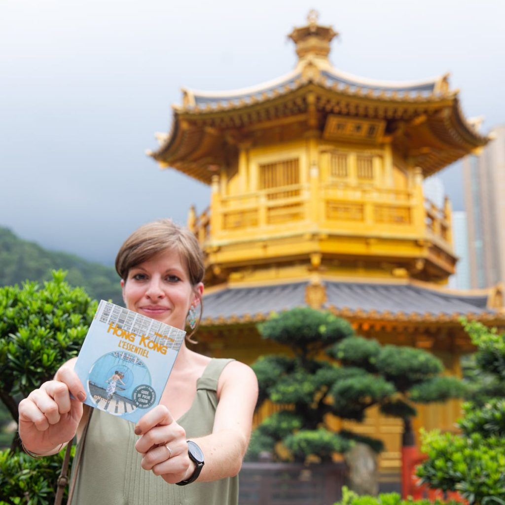 Le guide Hong Kong l'essentiel et son auteure Marie Pottiez