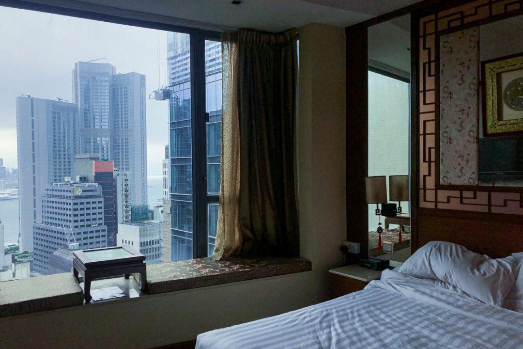 Vue de la chambre Lan Kwai fong hotel à Hong Kong