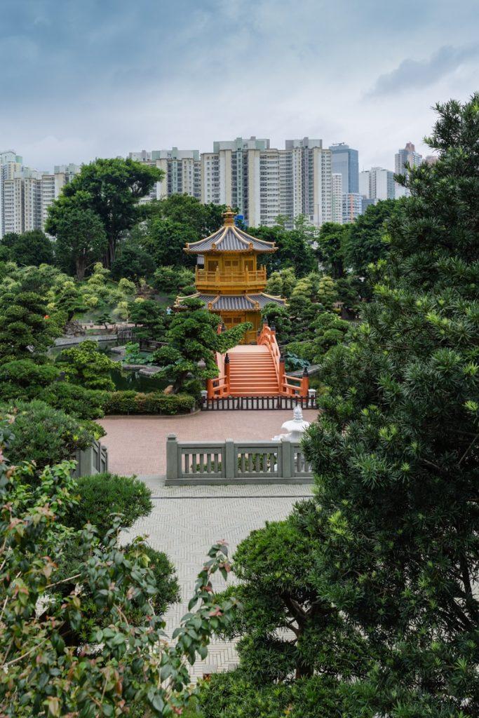 Les jardins de Nan Lian à Hong Kong, un lieu zen et empreint de sérénité dans le chaos de la ville #discoverhongkong #hongkong