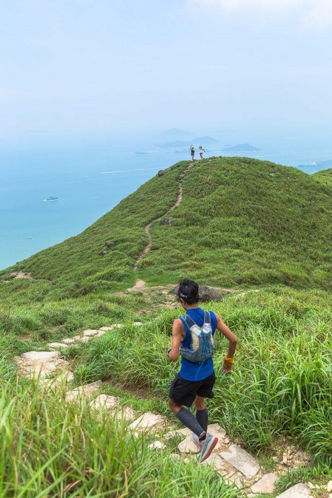 Trail sur l'ile de Lantau à Hong-Kong