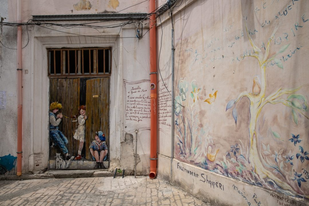 Street art à Durrës en Albanie #albanie #durres