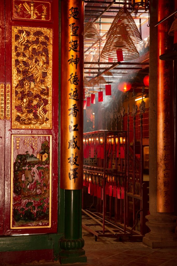 Découvrir le temple Man Mo à Hong Kong