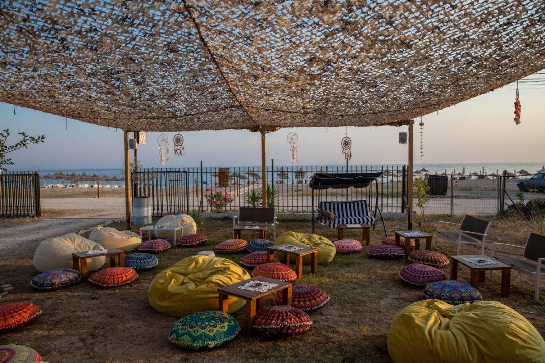 Boho, le café bohème de Livadhi beach en Albanie