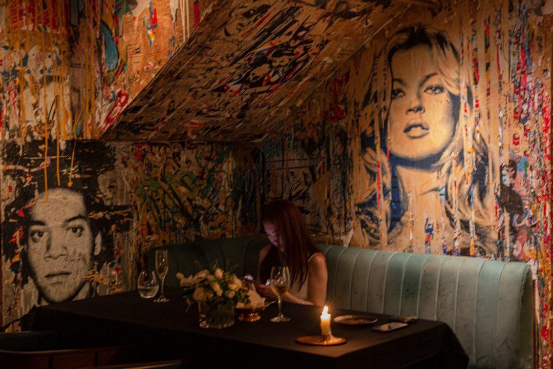 Où diner à Hong Kong ? Le Bibo est un restaurant gastronomique français à la décoration urbaine. c'est délicieux et ça mérite le détour #discoverHongKong #hongkong