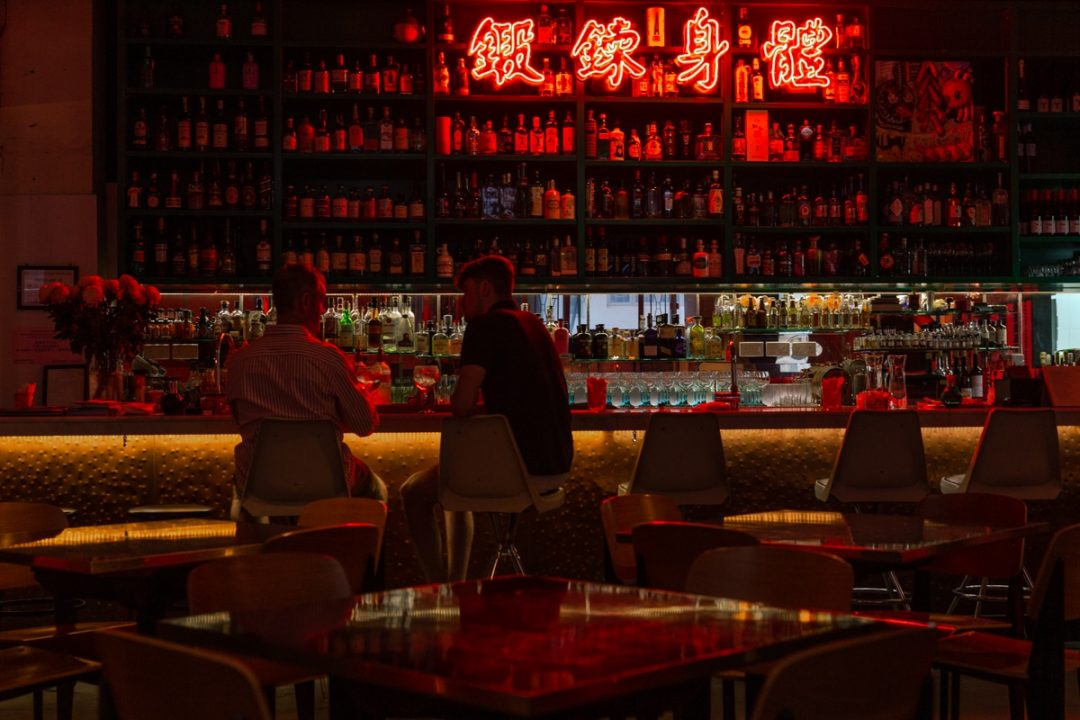 Ping Pong Ginoteria, le bar secret de Hong Kong. Sur la carte une grande variété de Gin tonics #discoverHongKong #hongkong