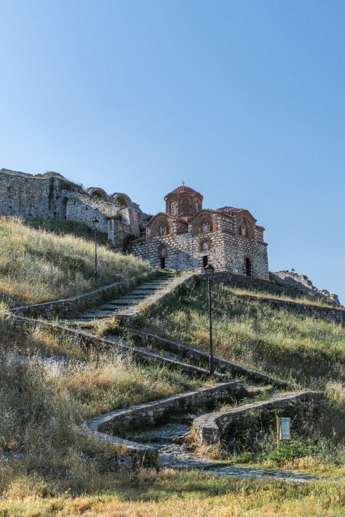 Berat, ville classée à l'Unesco en Albanie