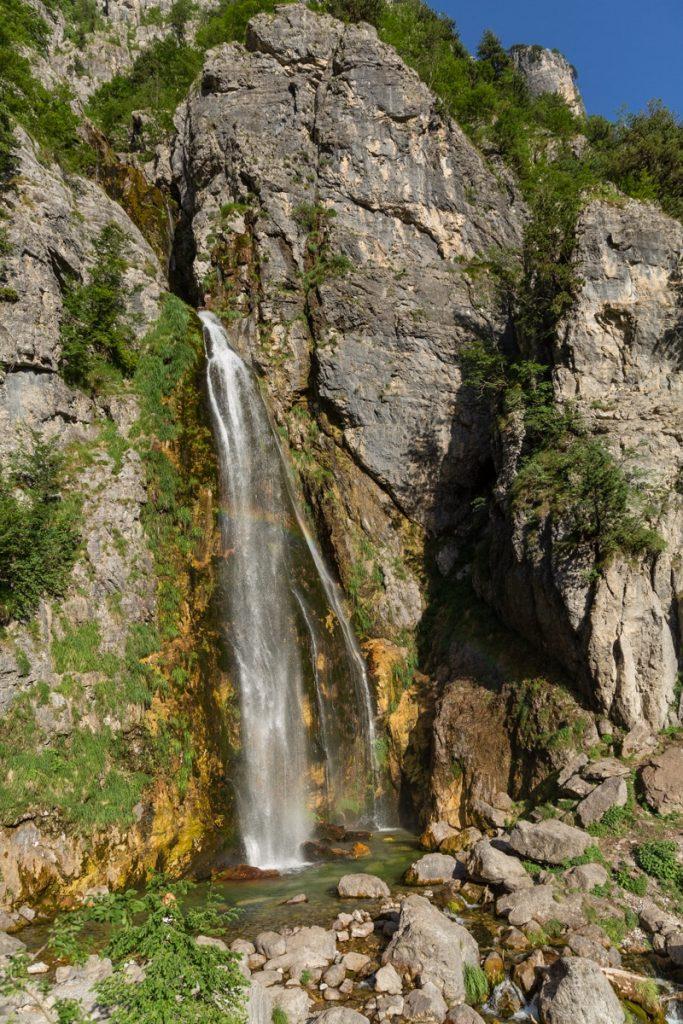 Chute de Rugas à Theth - Albanie