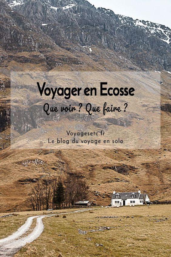 Voyager en Ecosse : Récits & conseils
