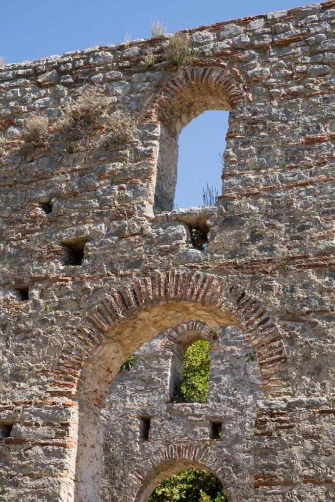 Site archéologique de Butrint an Albanie