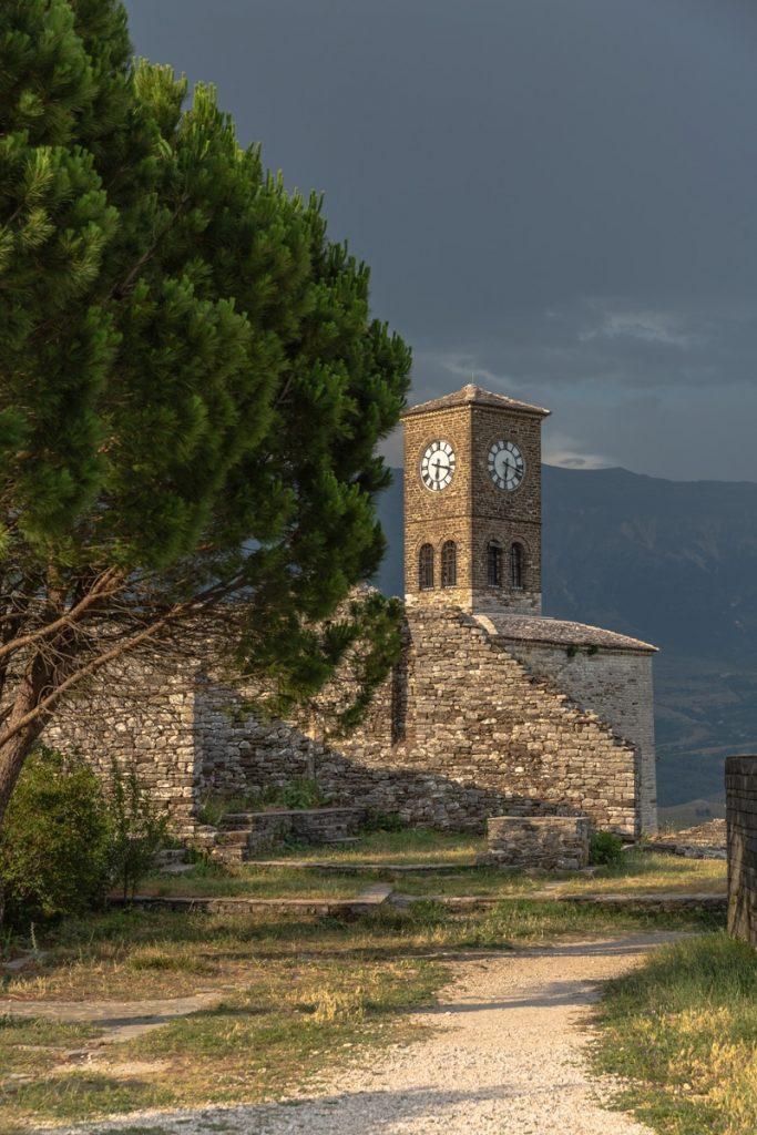 Tour de l'horloge à Gjirokastra #albanie