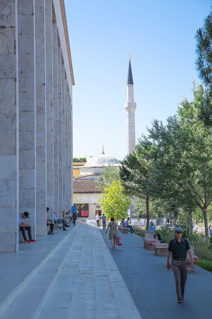 mosquée Et'hem Bey à Tirana en Albanie