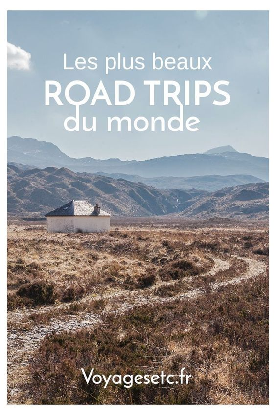 Mes plus beaux road trips