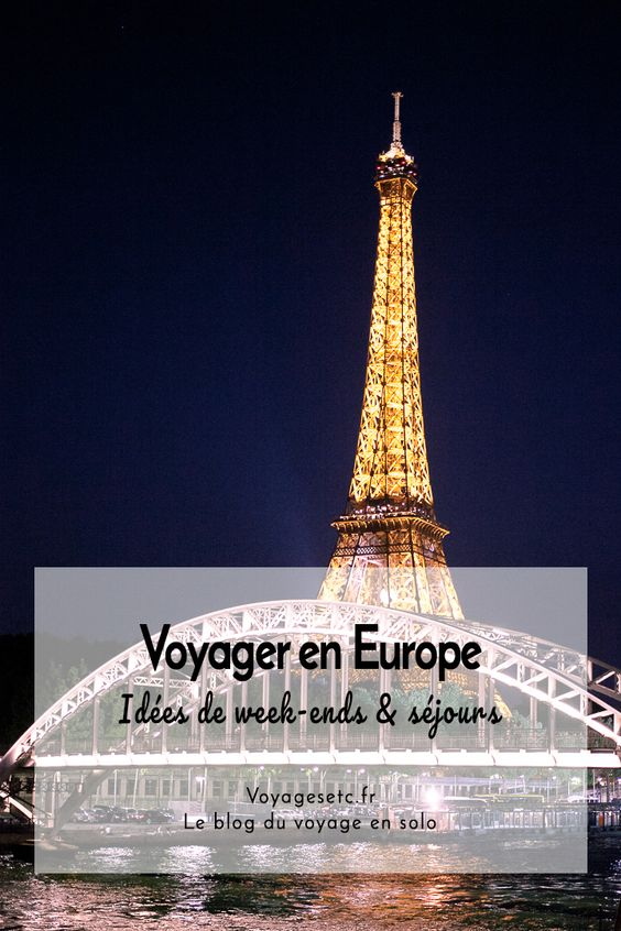 Retrouver ici de l\'inspiration pour organiser son week-end Europe. Je vous offre mes guides et de nombreux conseils pratiques pour voyager sereinement et ne rien louper dans les villes que vous aller visiter !