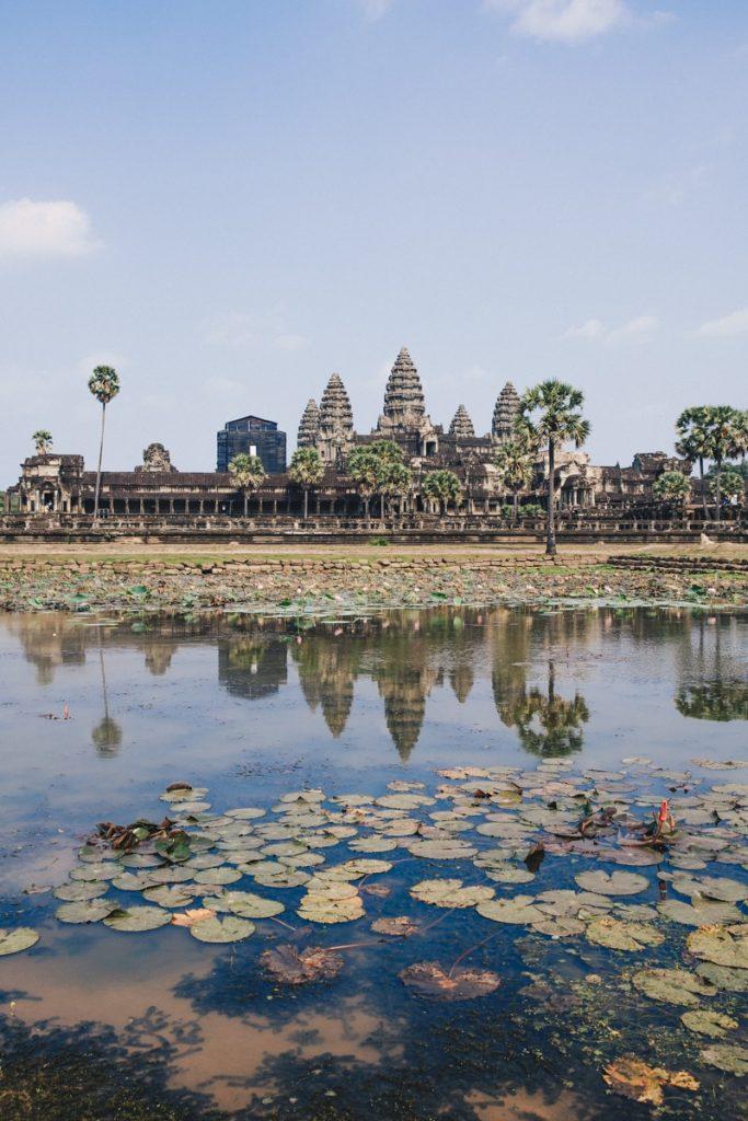 Reflet sur Angkor Vat - Cambodge