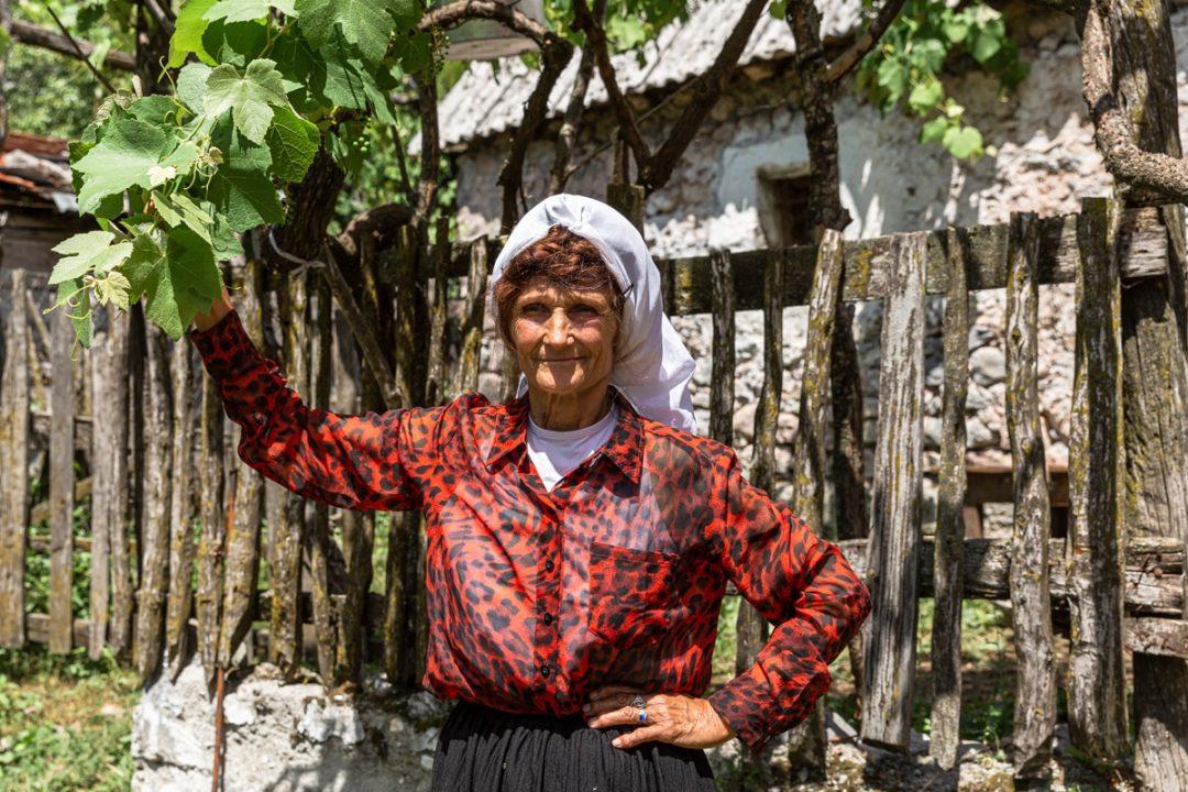 Une jolie rencontre à Theth en Albanie
