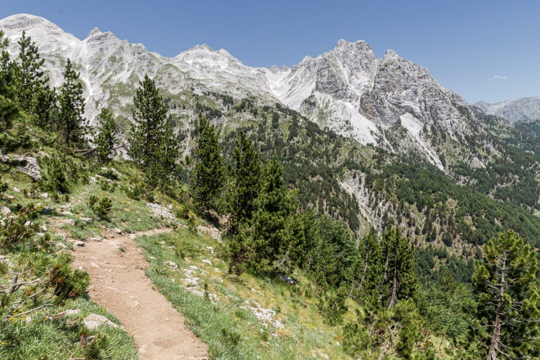 Randonnée de Theth à Valbona en Albanie