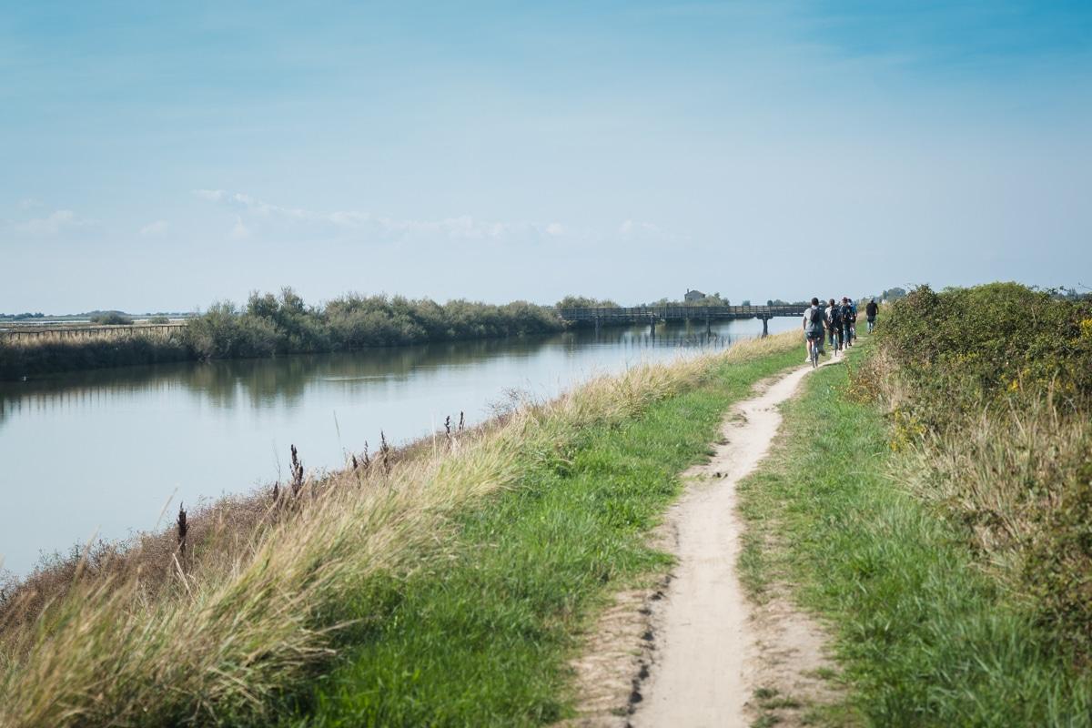 Le vélo est l'un des moyens pour découvrir le delta du Pô en Italie du nord #inemiliaromagna