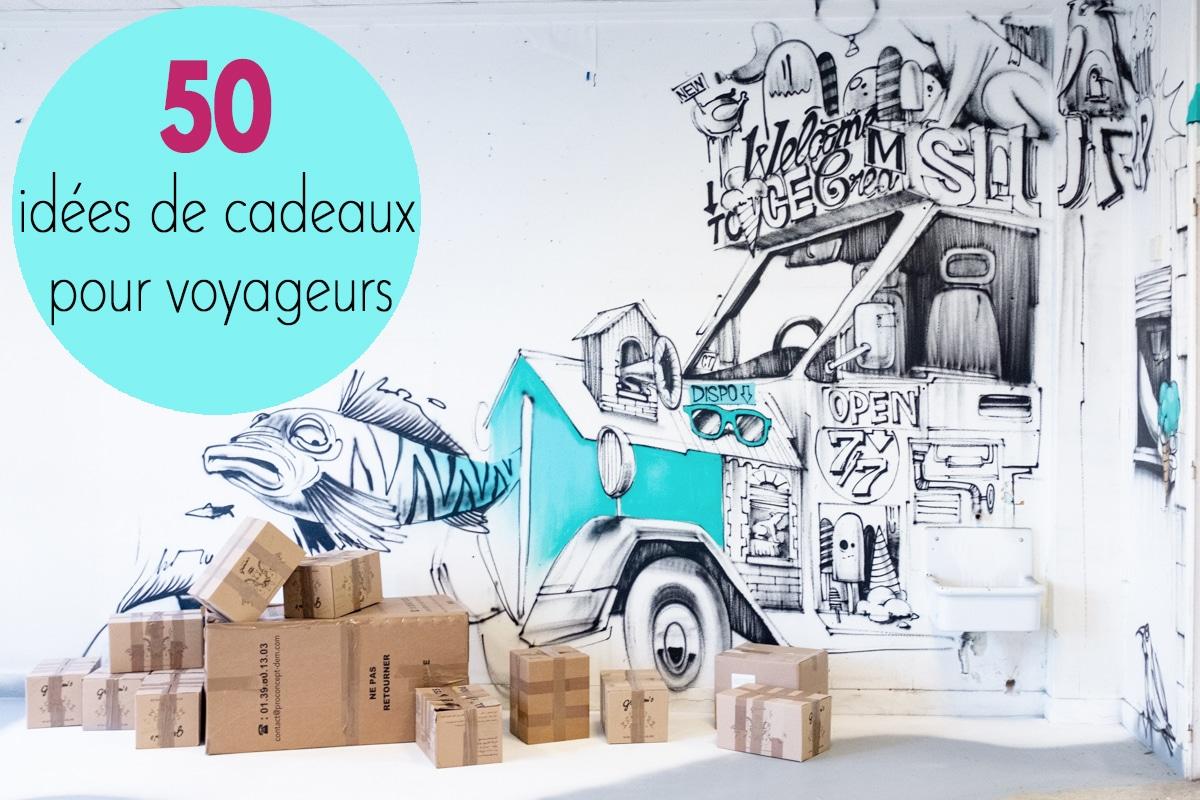 50 idées de cadeaux pour voyageurs
