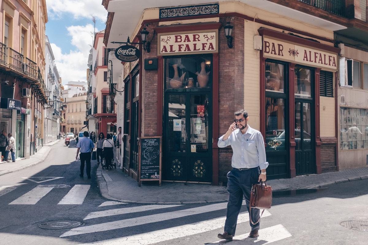 Le bar Alfalfa, une chouette adresse à tapas à Séville - Andalousie