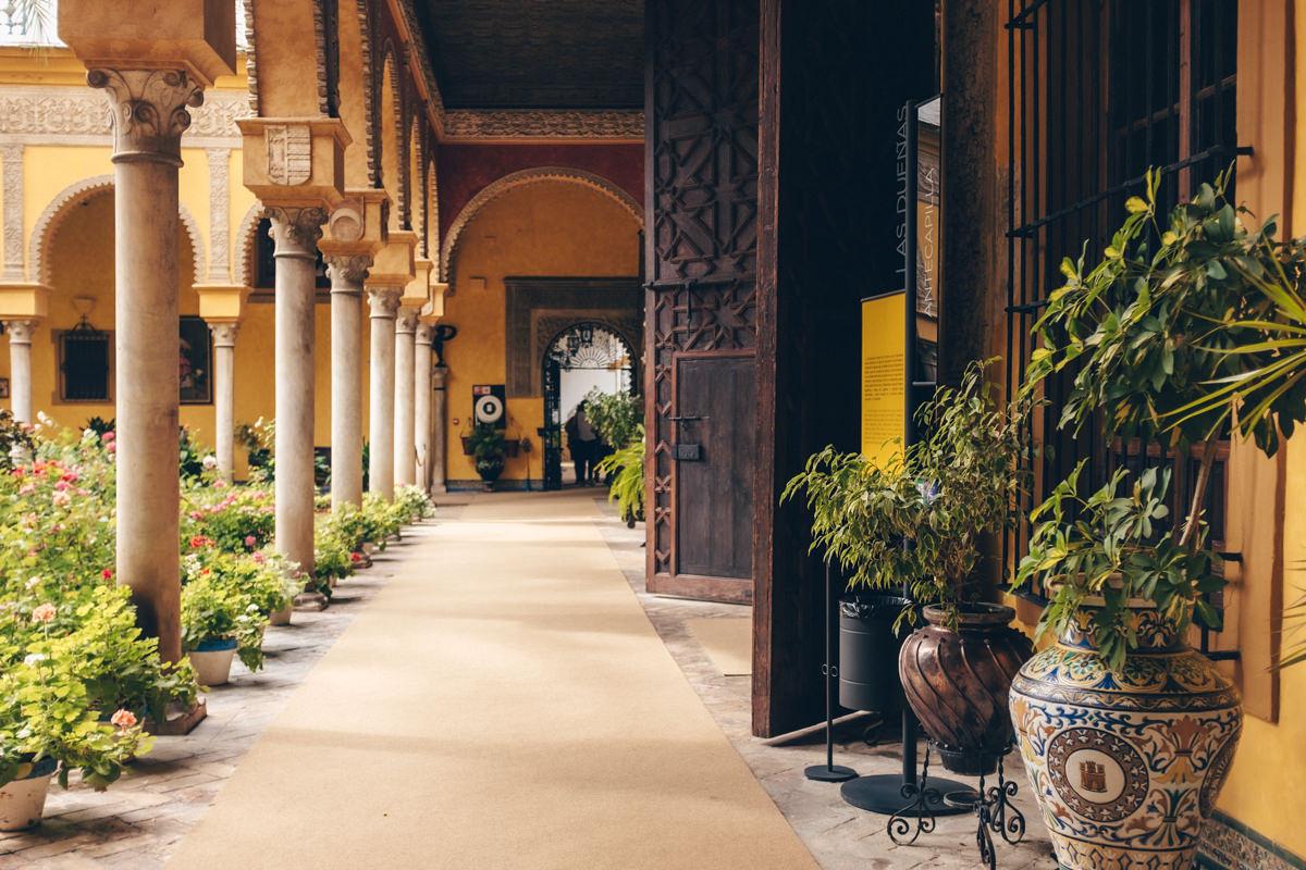 Le palacio de las dueñas à Séville, Andalousie #espagne