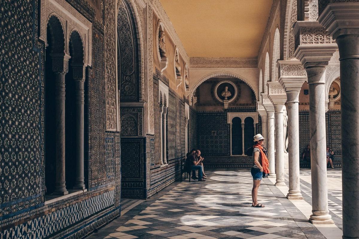 Les magnifiques mosaïques de la casa de Pilatos à Séville en Andalousie #espagne