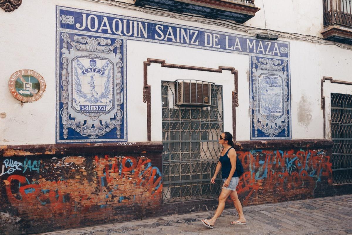 Flâner dans les rues de Séville