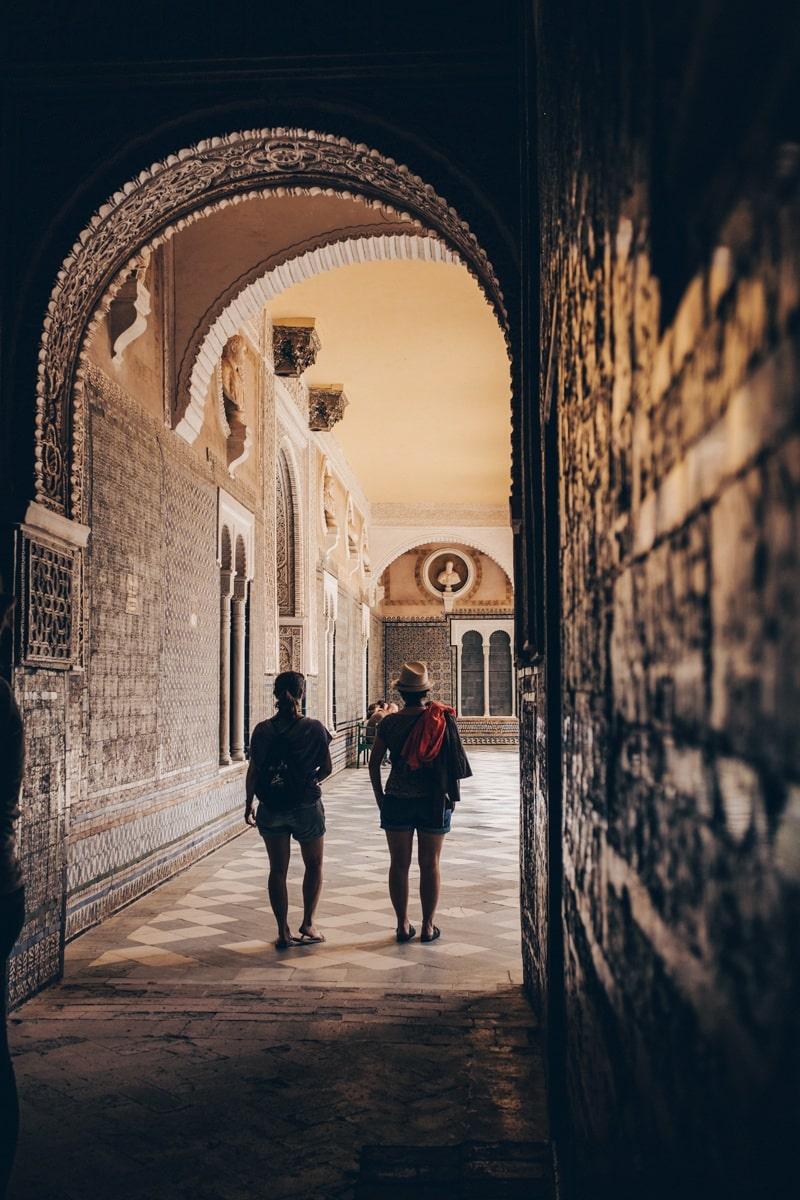 La casa de Pilatos à Séville en Espagne