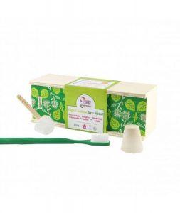 Kit pour les dents zéro déchets de la marque Lamazuna