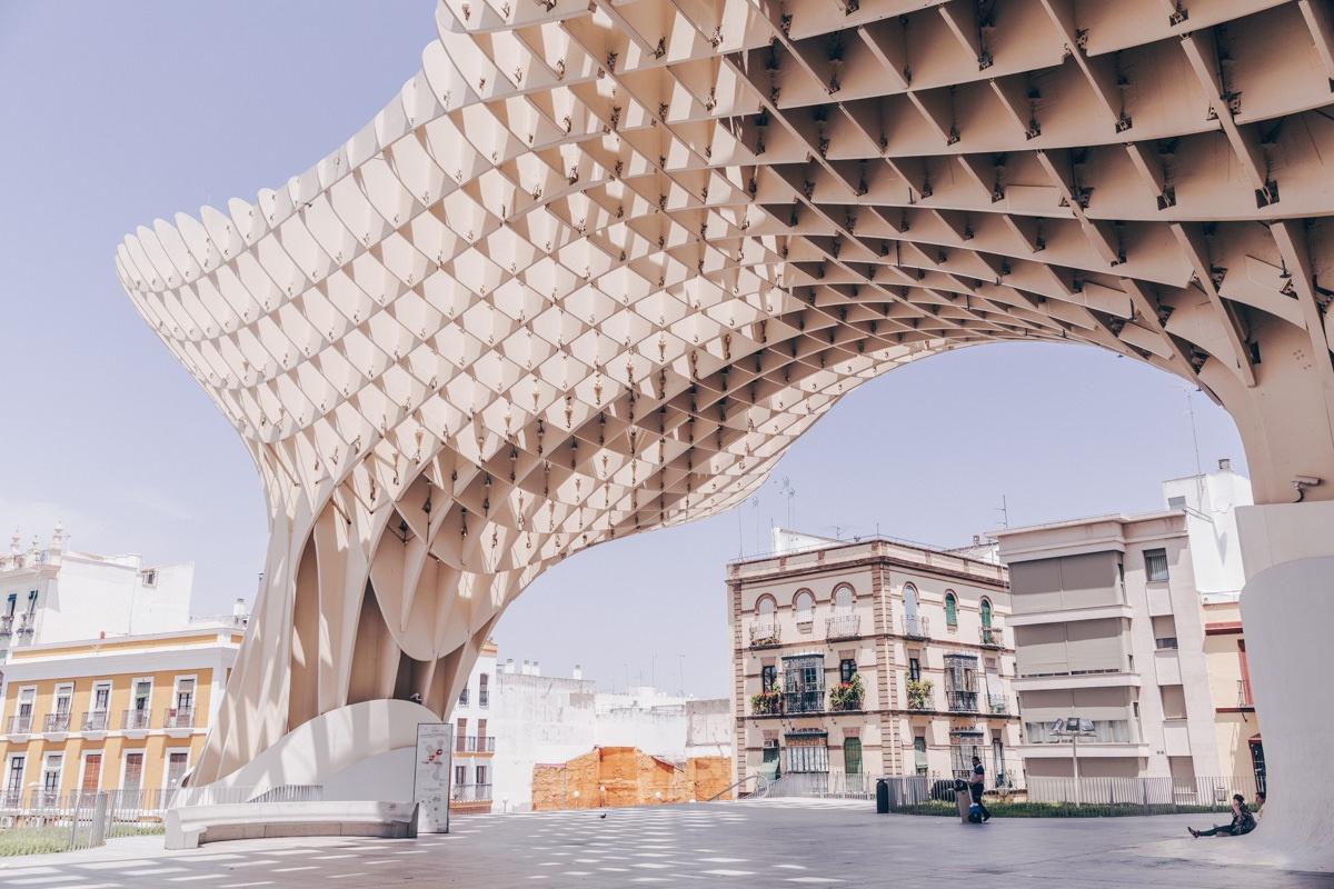 Metropol Parasol ou las setas, une structure en bois moderne à voir à Séville