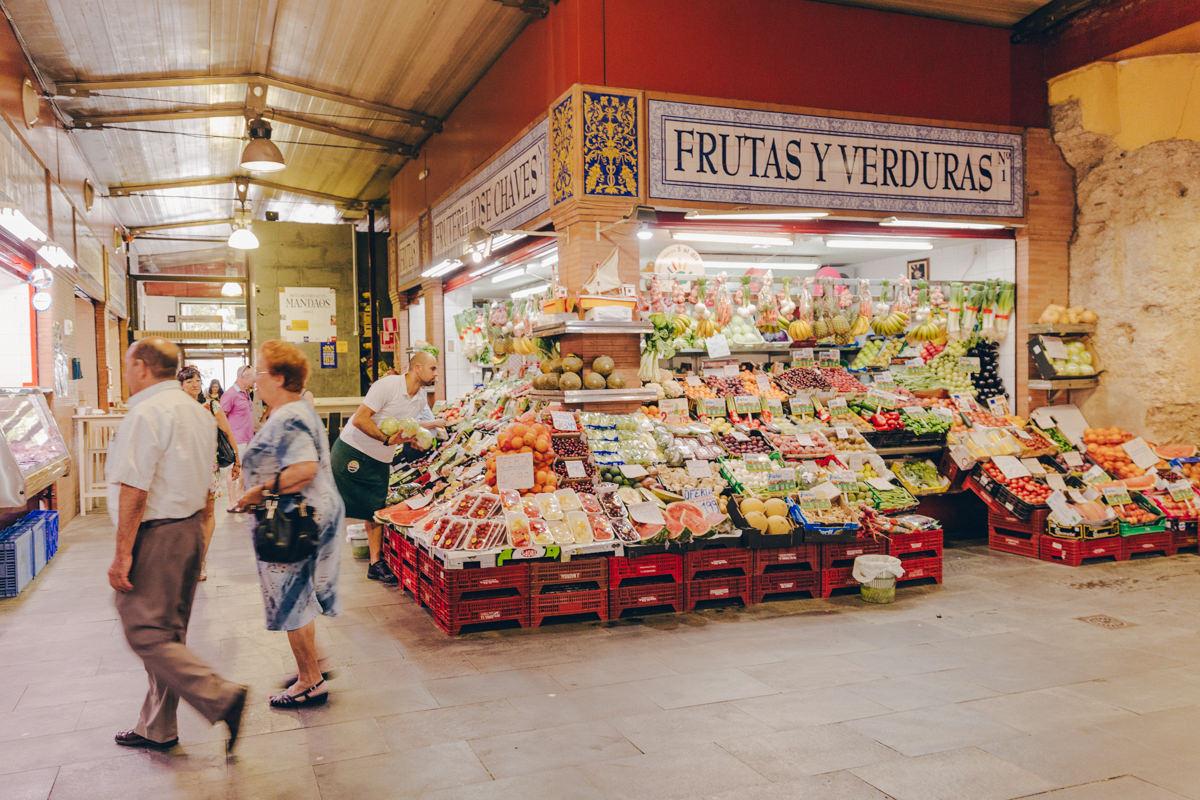 Visiter le marché de Tiriana à Séville