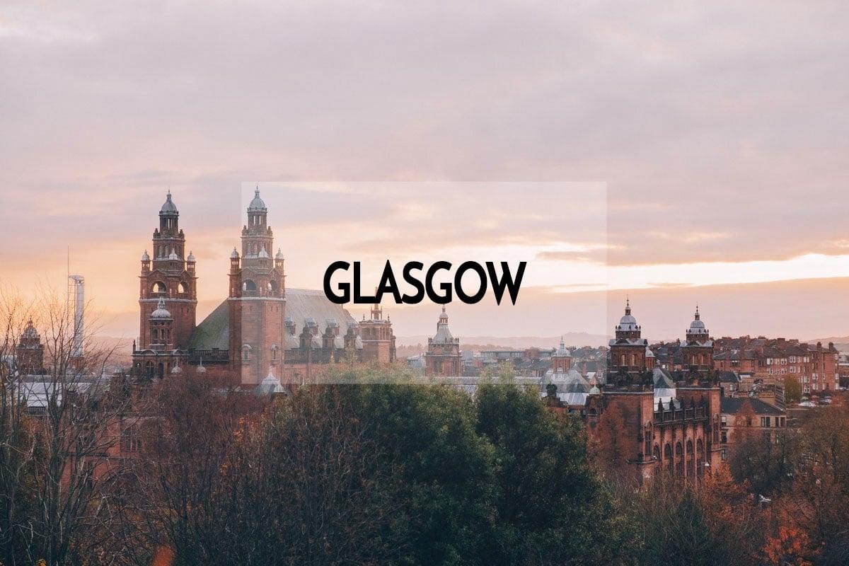 City guide pour visiter Glasgow en 3 jours