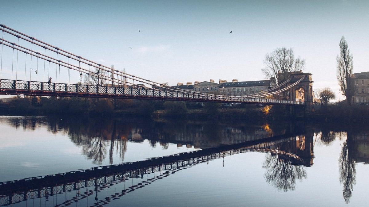 La balade le long de la Clyde à Glasgow est l'endroit où se même tradition et modernité, le Glasgow actuel et l'histoire