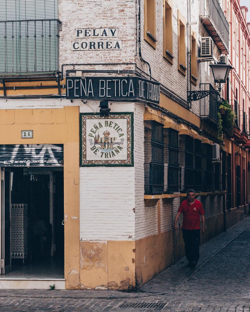 Peña de Tirana, Séville