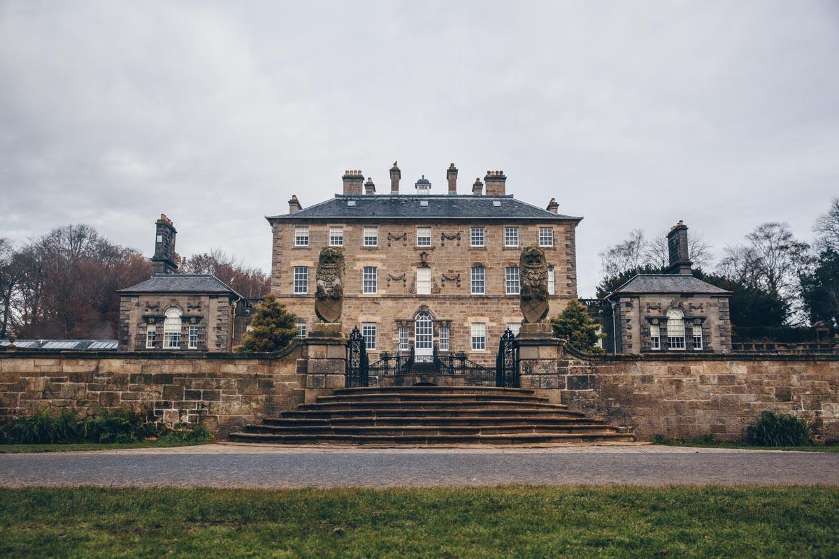 Pollok house, une sublime bâtisse du XVIIIème siècle. Elle se trouve dans le Pollok Park dans le sud de Glasgow
