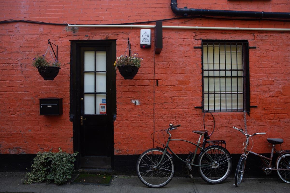 The hidden lane, une petite rue colorée et cachée de Glasgow. A voir dans le West End