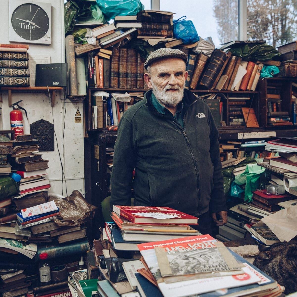 Voltaire & Rousseau une boutique de livres de 2nde main très improbable à Glasgow, Ecosse