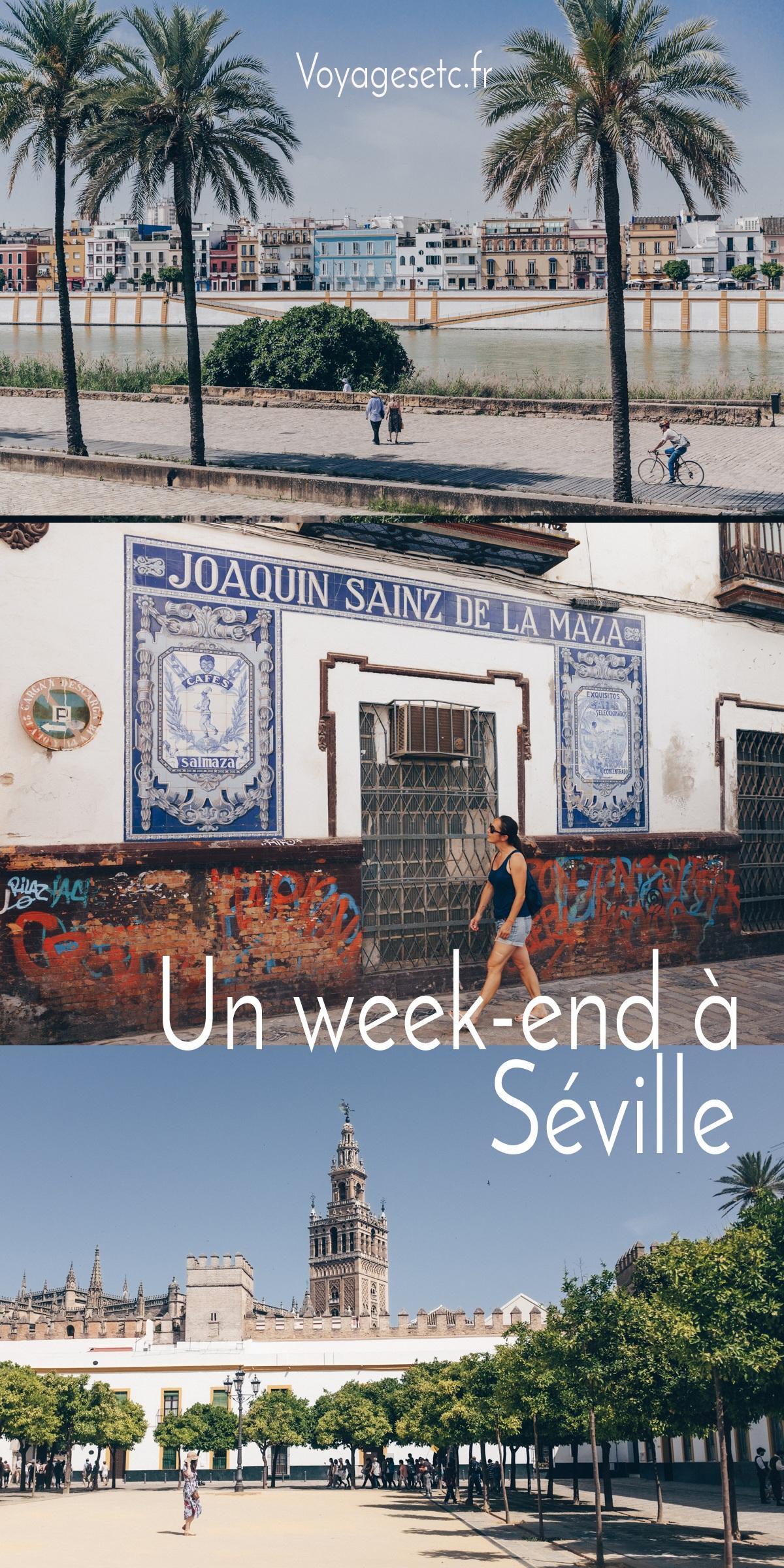 Visiter Séville en 3 à 5 jours et se laisser charmer par la belle andalouse