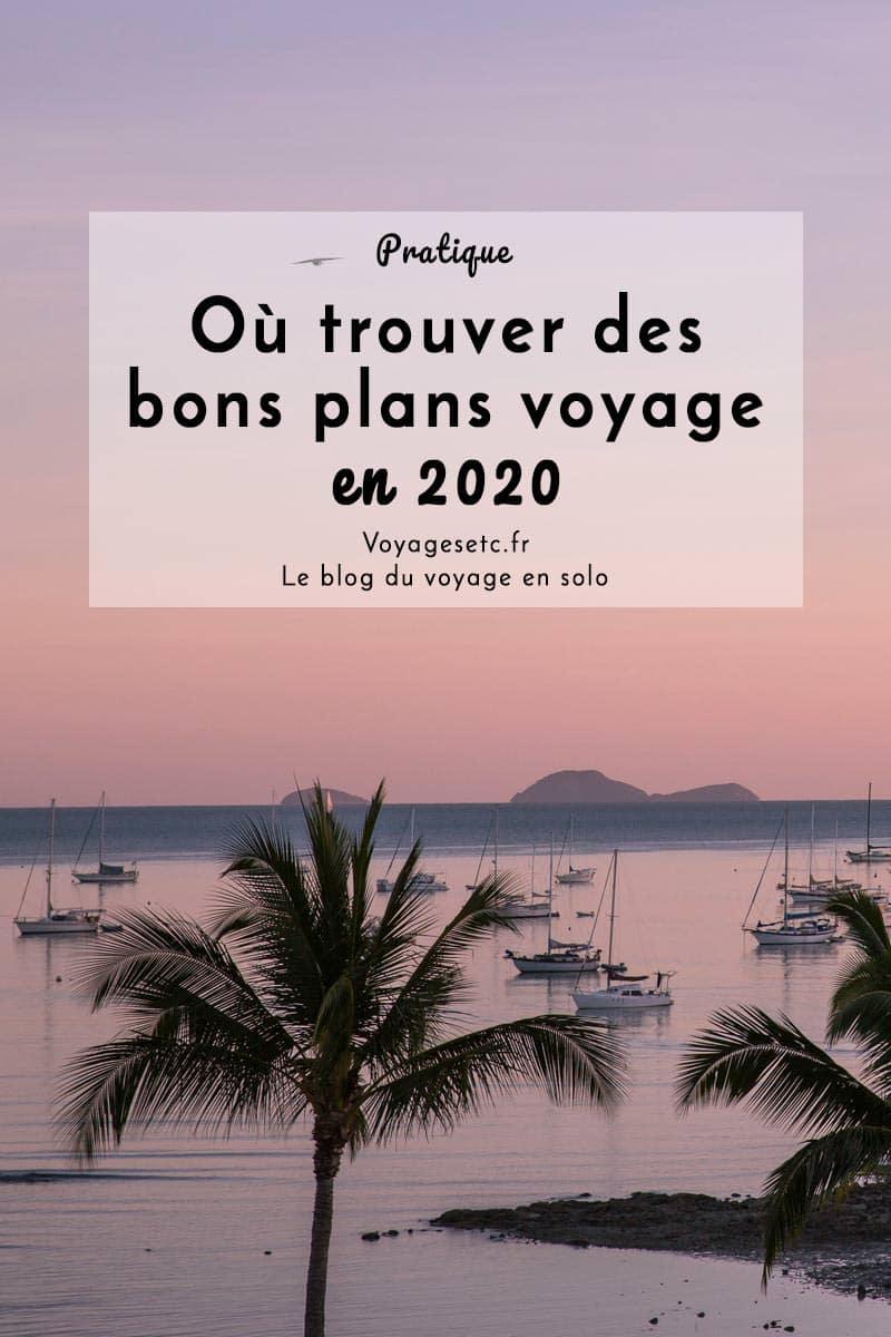 Voyager pas cher en 2020 : trouver des bons plans et promos au fil de l\'année
