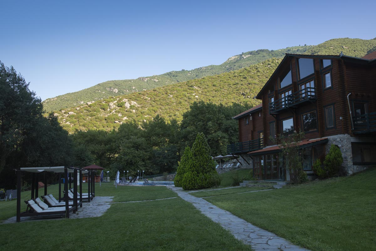 Dionysus village resort à Mousthéni en Grèce
