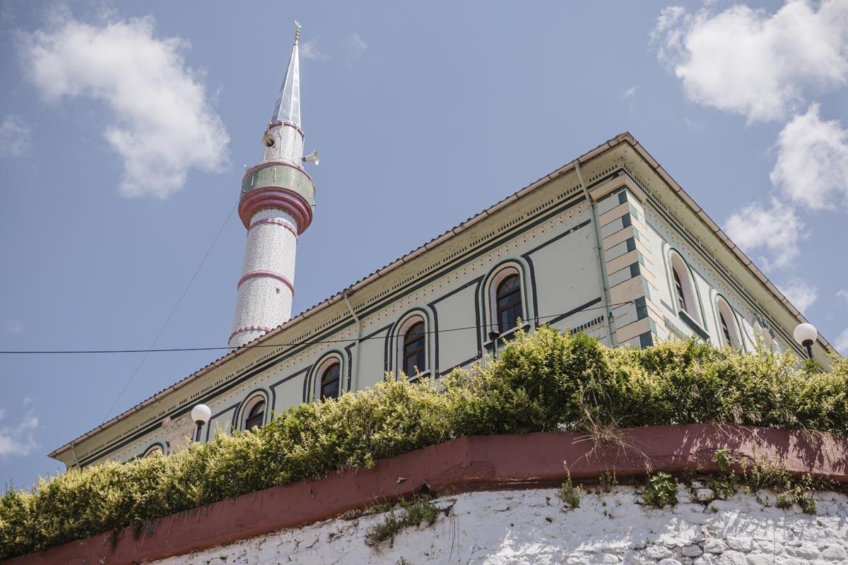 Mosquée de Echinos, un village des contrefort du mont Rhodope en Grèce continentale