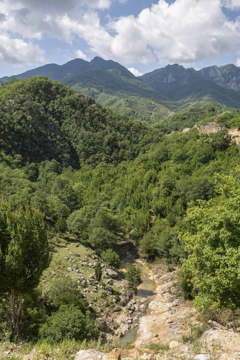 Le massif des Rhodopes en Grèce